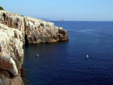 Lokrum cliffs