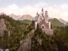 Neuschwanstein Castle LOC print rotated4